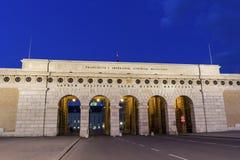 Εξωτερική πύλη κάστρων στη Βιέννη στην Αυστρία Στοκ Εικόνες