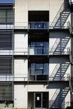 Εξωτερική σκάλα στο σχολικό κτίριο Στοκ Φωτογραφία