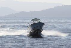 Εξωτερική hurtling θάλασσα Στοκ εικόνες με δικαίωμα ελεύθερης χρήσης