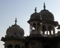 Εξωτερικοί θόλοι αρχιτεκτονικής της Ινδίας στοκ φωτογραφία
