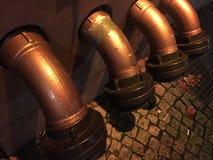 Εξωτερικοί σωλήνες αποχέτευσης Στοκ φωτογραφία με δικαίωμα ελεύθερης χρήσης