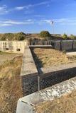 εξωτερικοί τοίχοι οχυρώ&n Στοκ Φωτογραφία