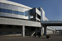 εξωτερικός βιομηχανικός οικοδόμησης Στοκ Φωτογραφία