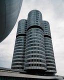 Εξωτερικός πυροβολισμός των κύριων γραφείων της BMW στο Μόναχο Στοκ φωτογραφίες με δικαίωμα ελεύθερης χρήσης
