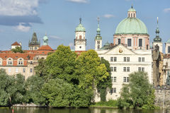 Εξωτερικός πυροβολισμός του μουσείου της γέφυρας του Charles, Πράγα, Δημοκρατία της Τσεχίας Στοκ Εικόνες