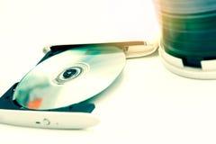 Εξωτερικός συγγραφέας DVD στοκ φωτογραφία με δικαίωμα ελεύθερης χρήσης