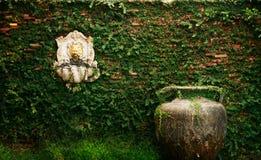 Εξωτερικός τοίχος του σπιτιού στοκ φωτογραφίες