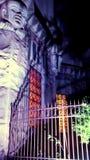 Εξωτερικός φωτισμός για την κοσμική ιδιοκτησία, κληρονομιά της πόλης στοκ εικόνες