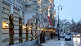 Εξωτερικός φωτισμός της οδού Vrublevskio στοκ φωτογραφία με δικαίωμα ελεύθερης χρήσης
