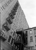 εξωτερικός ψηλός οικοδόμησης Στοκ Φωτογραφίες