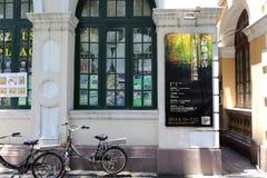 Εξωτερικό έκθεσης ζωγραφικής Στοκ Εικόνες