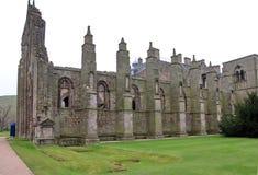 Εξωτερικό αβαείο Holyrood, Εδιμβούργο, Σκωτία στοκ φωτογραφία με δικαίωμα ελεύθερης χρήσης
