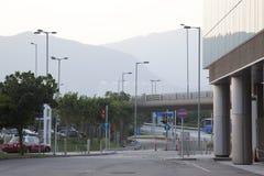 Εξωτερικό αερολιμένων Χονγκ Κονγκ Στοκ φωτογραφία με δικαίωμα ελεύθερης χρήσης