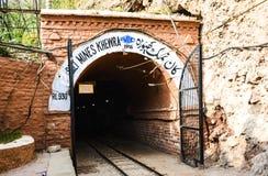 Εξωτερικό αλατισμένο ορυχείο Khewra άποψης Στοκ Φωτογραφία