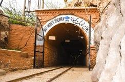 Εξωτερικό αλατισμένο ορυχείο Khewra άποψης Στοκ Φωτογραφίες
