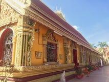 Εξωτερικό ενός βουδιστικού ναού Στοκ Φωτογραφίες