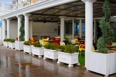 εξωτερικό εστιατόριο Στοκ Εικόνα
