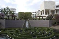 Εξωτερικό καλοκαίρι κήπων μουσείων Getty στοκ εικόνες