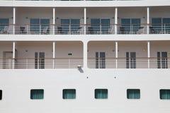 Εξωτερικό κρουαζιερόπλοιο καμπινών Στοκ Φωτογραφία