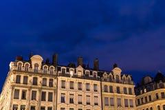 Εξωτερικό οικοδόμησης τη νύχτα Στοκ φωτογραφίες με δικαίωμα ελεύθερης χρήσης