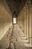 Εξωτερικό πέρασμα σε Angkor Wat Στοκ Φωτογραφία
