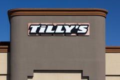 Εξωτερικό πολυκαταστημάτων της Tilly Στοκ εικόνα με δικαίωμα ελεύθερης χρήσης