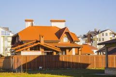 εξωτερικό σπίτι σύγχρονο Στοκ φωτογραφίες με δικαίωμα ελεύθερης χρήσης