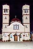 Εξωτερικό της εκκλησίας, Κρήτη στοκ φωτογραφία
