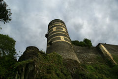 Εξωτερικό της Angers Castle, πόλη της Angers, Γαλλία Στοκ φωτογραφία με δικαίωμα ελεύθερης χρήσης