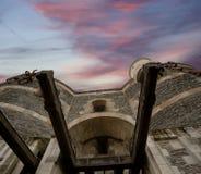 Εξωτερικό της Angers Castle, πόλη της Angers, Γαλλία Στοκ εικόνα με δικαίωμα ελεύθερης χρήσης