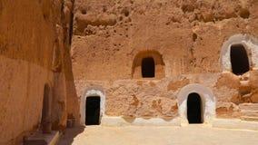 Εξωτερικό του αρχαίου σπιτιού απόθεμα βίντεο