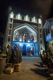 13 04 2018 - Εξωτερικό του δημόσιου λουτρού στο Tbilisi τη νύχτα ένα πρόστιμο Στοκ εικόνες με δικαίωμα ελεύθερης χρήσης