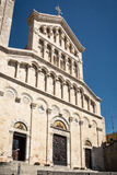 Εξωτερικό του Λα Cattedrale Σάντα Μαρία στο Κάλιαρι, Σαρδηνία Στοκ Εικόνα