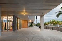 Εξωτερικό του μουσείου του Perez στο της περιφέρειας του κέντρου Μαϊάμι Στοκ φωτογραφίες με δικαίωμα ελεύθερης χρήσης