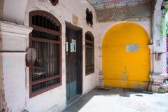Εξωτερικό του παλαιού κτηρίου στην παλαιά πόλη Phuket Στοκ φωτογραφίες με δικαίωμα ελεύθερης χρήσης