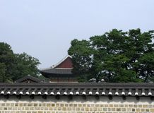 Εξωτερικό του χωριού Bukchon Hanok στη Σεούλ στοκ φωτογραφίες