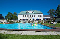 Εξωτερικό του Castle Haringe Στοκ φωτογραφία με δικαίωμα ελεύθερης χρήσης