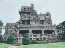 Εξωτερικό του Gillette Castle στοκ εικόνα