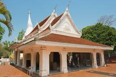 Εξωτερικό του Phra που ναός Rak τραγουδιού Si σε Loei, Ταϊλάνδη Στοκ φωτογραφία με δικαίωμα ελεύθερης χρήσης