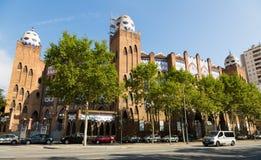 Εξωτερικό του Plaza μνημειακό de Βαρκελώνη Στοκ εικόνες με δικαίωμα ελεύθερης χρήσης
