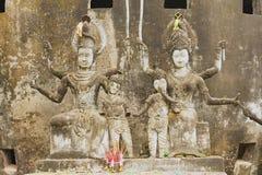 Εξωτερικό των γλυπτών στο πάρκο του Βούδα σε Vientiane, Λάος Στοκ φωτογραφίες με δικαίωμα ελεύθερης χρήσης