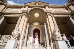 Εξωτερικό των μουσείων Βατικάνου στοκ φωτογραφία με δικαίωμα ελεύθερης χρήσης