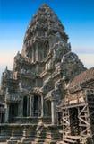 Εξωτερικό Angkor Wat Στοκ φωτογραφία με δικαίωμα ελεύθερης χρήσης