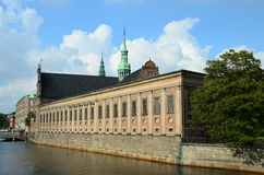 Εξωτερικό Christiansborg Στοκ Εικόνες