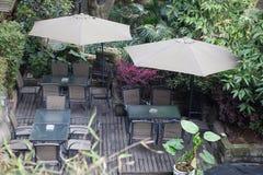 Εξωτερικό patio σπιτιών Στοκ εικόνα με δικαίωμα ελεύθερης χρήσης