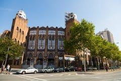 Εξωτερικό Plaza μνημειακό de Βαρκελώνη Στοκ φωτογραφίες με δικαίωμα ελεύθερης χρήσης