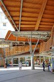 Εξωτερικό Santa Catarina Market στη Βαρκελώνη, Καταλωνία, Ισπανία Στοκ Φωτογραφίες