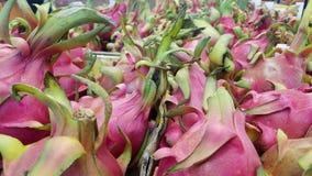 Εξωτικά φρούτα dragonfruit Στοκ εικόνα με δικαίωμα ελεύθερης χρήσης