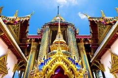 Εξωτικές ταξίδια και περιπέτειες Ταξίδι της Ταϊλάνδης Βούδας και ορόσημα στοκ εικόνες
