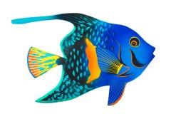 εξωτικό παιχνίδι ψαριών Στοκ εικόνα με δικαίωμα ελεύθερης χρήσης
